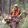 Montana Elk, Deer, Moose Hunt Bob Marshall Wilderness