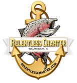 Relentless sport fishing charter Lake Michigan