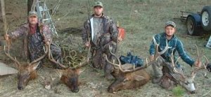 Washington Elk, Mule Deer, Bear and Turkey Hunts