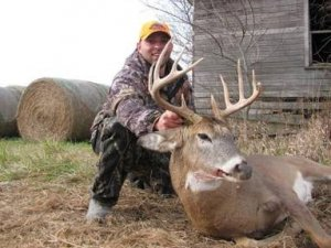 Trophy Whitetail Hunts in Harrison County Missouri